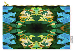 Carry-all Pouch featuring the photograph Color Abstraction Lxv by David Gordon