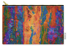 Carry-all Pouch featuring the photograph Color Abstraction Lxvi by David Gordon