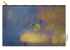 Carry-all Pouch featuring the photograph Color Abstraction Lxviii by David Gordon