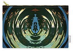 Carry-all Pouch featuring the photograph Color Abstraction Lxx by David Gordon