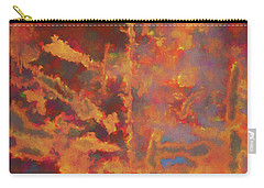 Carry-all Pouch featuring the photograph Color Abstraction Lxxi by David Gordon