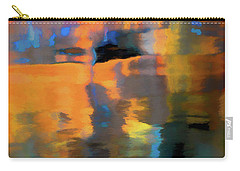Carry-all Pouch featuring the photograph Color Abstraction Lxxii by David Gordon