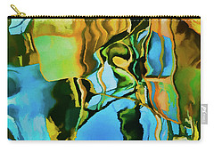 Carry-all Pouch featuring the photograph Color Abstraction Lxxiii by David Gordon