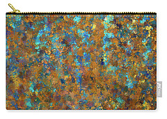 Carry-all Pouch featuring the photograph Color Abstraction Lxxiv by David Gordon