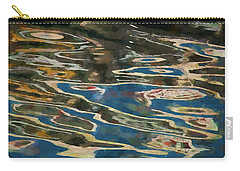 Carry-all Pouch featuring the photograph Color Abstraction Lxxv by David Gordon