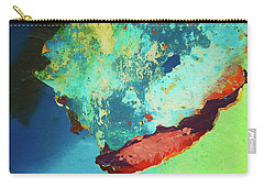Color Abstraction Lxxvi Carry-all Pouch