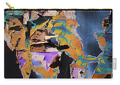 Color Abstraction Lxxvii Carry-all Pouch