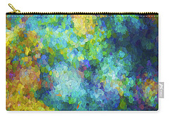 Color Abstraction Xliv Carry-all Pouch