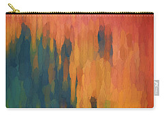 Color Abstraction Xlix Carry-all Pouch