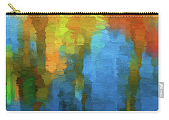 Color Abstraction Xxxi Carry-all Pouch