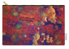 Color Abstraction Xxxv Carry-all Pouch