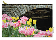 Color Along The Pond Carry-all Pouch