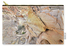 Color At Valley Of Fire State Park Carry-all Pouch