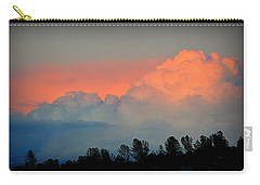 Carry-all Pouch featuring the photograph Color Burst by AJ Schibig