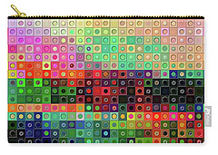 Color Coded Carry-all Pouch by Wendy J St Christopher