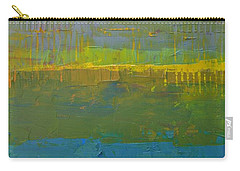 Carry-all Pouch featuring the painting Color Collage Five by Michelle Calkins