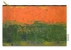Carry-all Pouch featuring the painting Color Collage Four by Michelle Calkins