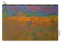 Carry-all Pouch featuring the painting Color Collage One by Michelle Calkins