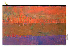 Carry-all Pouch featuring the painting Color Collage Two by Michelle Calkins