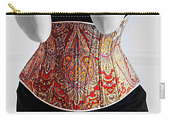 Carry-all Pouch featuring the photograph Color Corset by Andrey  Godyaykin