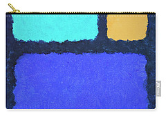 Carry-all Pouch featuring the painting Color Fields by Jutta Maria Pusl