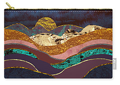 Color Fields Carry-all Pouch by Katherine Smit