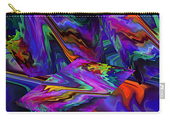 Carry-all Pouch featuring the digital art Color Journey by Lynda Lehmann