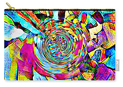 Color Lives Here Carry-all Pouch