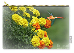 Carry-all Pouch featuring the photograph Color Me Autumn by Barbara S Nickerson