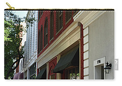 Carry-all Pouch featuring the photograph Color Me Main St Usa by Skip Willits