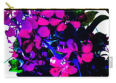 Color Me With Flowers Carry-all Pouch