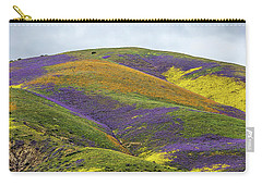 Carry-all Pouch featuring the photograph Color Mountain I by Peter Tellone