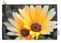 Color My Petals Carry-all Pouch