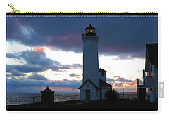 Color Of December, Tibbetts Point Lighthouse Carry-all Pouch