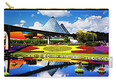 Carry-all Pouch featuring the photograph Color Of Imagination by Greg Fortier
