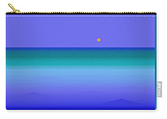 Carry-all Pouch featuring the digital art Color Of Water by Val Arie