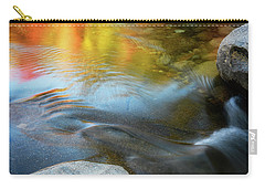 Color On The Swift River Nh Carry-all Pouch by Michael Hubley