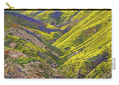 Carry-all Pouch featuring the photograph Color Valley by Peter Tellone