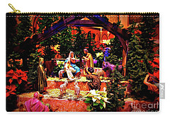 Color Vibe Nativity - Border Carry-all Pouch