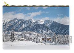 Carry-all Pouch featuring the photograph Colorad Winter Wonderland by Darren White