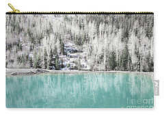 Colorado Aqua Woodland Forest Landscape Carry-all Pouch by Andrea Hazel Ihlefeld