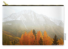 Colorado Aspen Trees Mountain Dreamy Landscape Carry-all Pouch by Andrea Hazel Ihlefeld