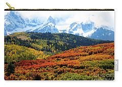 Colorado Autumn 2016 San Juan Mountains  Carry-all Pouch