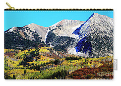 Colorado Autumn 2016 West Elk Mountains Carry-all Pouch
