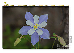 Colorado Columbine Flower Carry-all Pouch