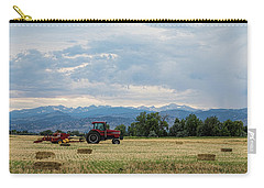 Carry-all Pouch featuring the photograph Colorado Country by James BO Insogna