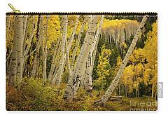 Colorado Fall Aspen Grove Carry-all Pouch