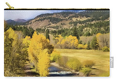Colorado Fall Mountains Carry-all Pouch by Steven Parker