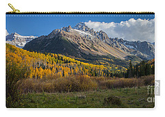 Carry-all Pouch featuring the photograph Colorado Fall by Steven Reed
