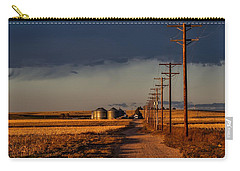 Colorado Farm Sunset Carry-all Pouch